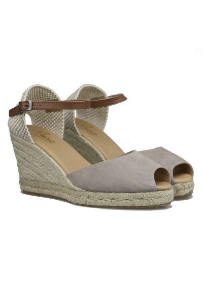 Pinaz High Espadrille Wedge In Africa