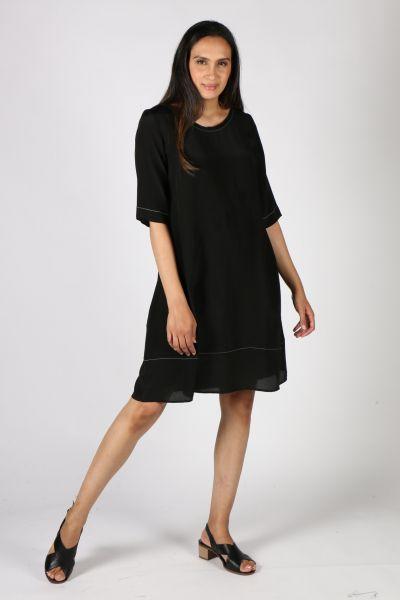 Vale & Ward Tia Dress In Black