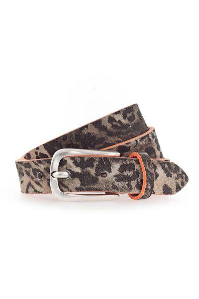 Skinny Animal Print Belt By B.Belt