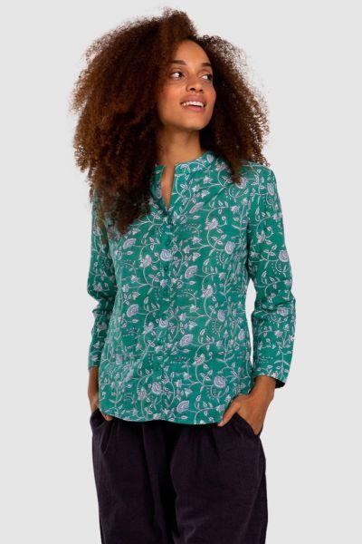 Boom Shankar Coco Shirt In Hara Block Print