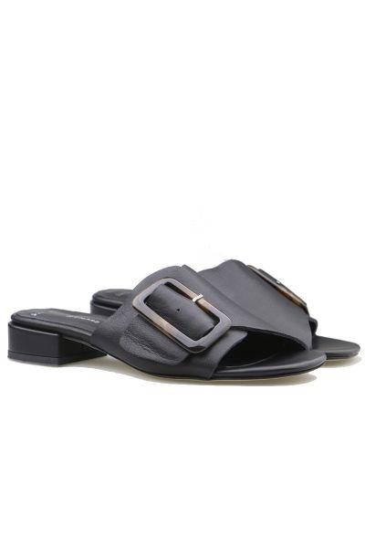 Buckle Slide By Sempre Di In Black