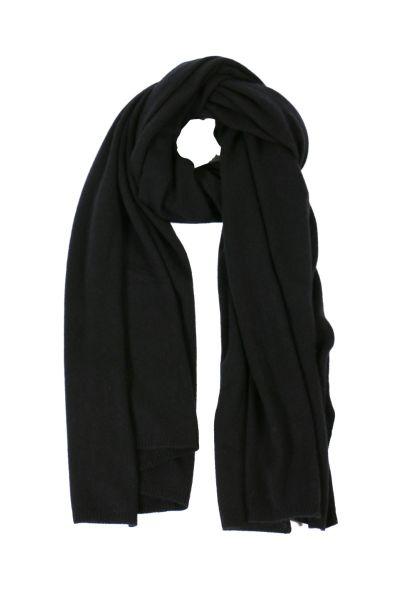 C & Co Wrap Shawl In Black