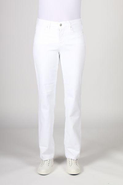 NYDJ Marilyn Straight Jean In White
