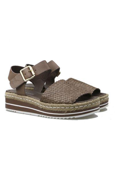 Arlies Sandal By Django & Juliet In Taupe