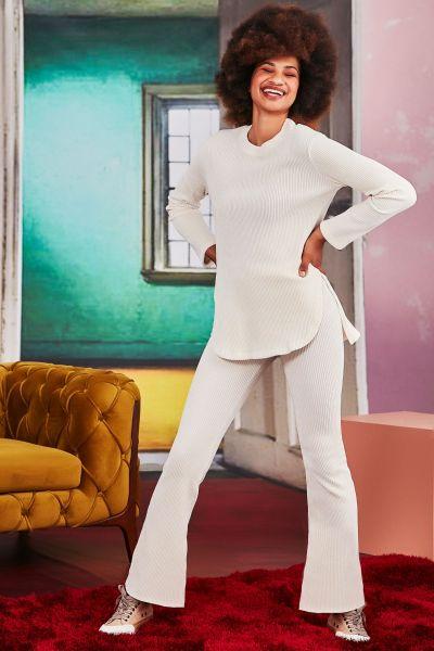 Coop Stretch Home Run Pant In Cream
