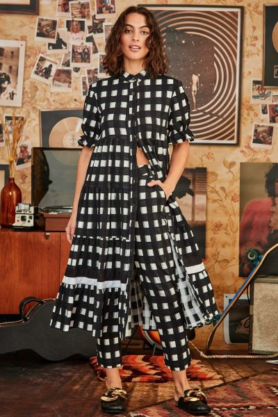 Cooper One Two Check Dress
