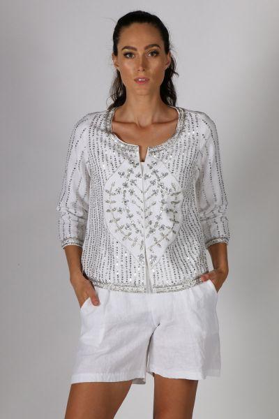 White Rubyyaya Isidora Jacket