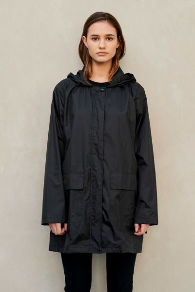 Paqme Anyday Raincoat In Black
