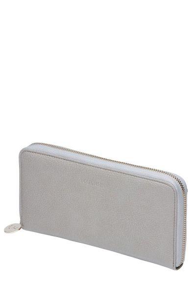 Isla Zip Wallet in Stone