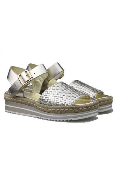 Arlies Sandal By Django & Juliet In Gold