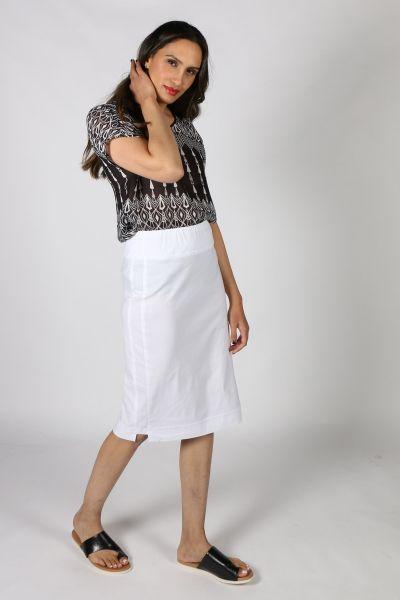 Verge Desiree Skirt In White