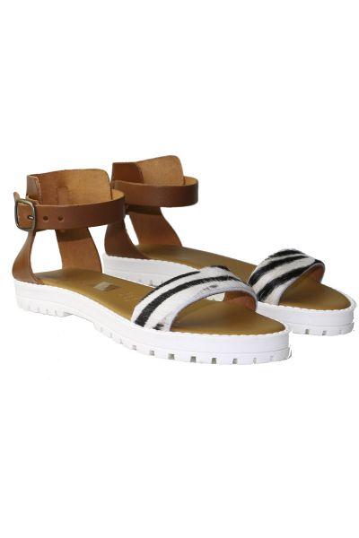 Zebra Sandal By Antichi Romani