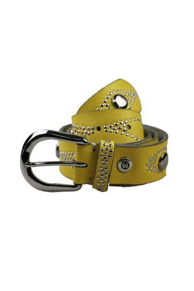 Romy Belt By B.Belt In Yellow