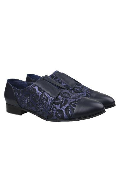 Gamins Junta Shoe In Navy