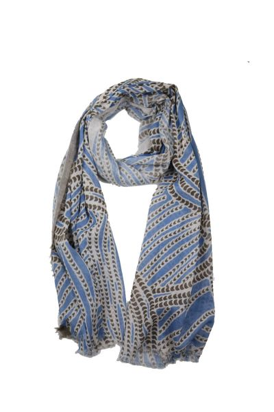 Directions Tribal Scarf In Sky