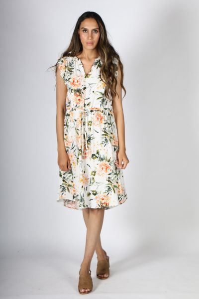 Vintage Style Dress By Jump In Print