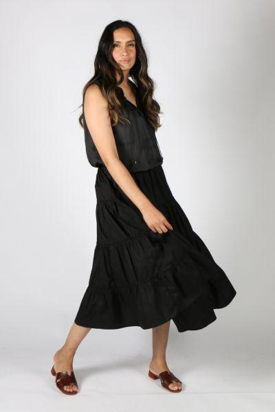 Bagruu Diwali Skirt In Black