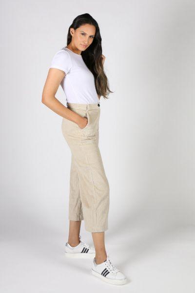 Etici Jumbo Cord Pants In Cream