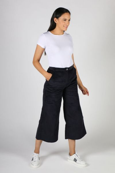 Etici Jumbo Cord Pants In Navy