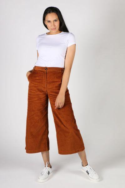 Etici Jumbo Cord Pants In Tan