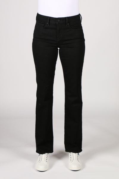 NYDJ Marilyn Straight Leg Jean In Black