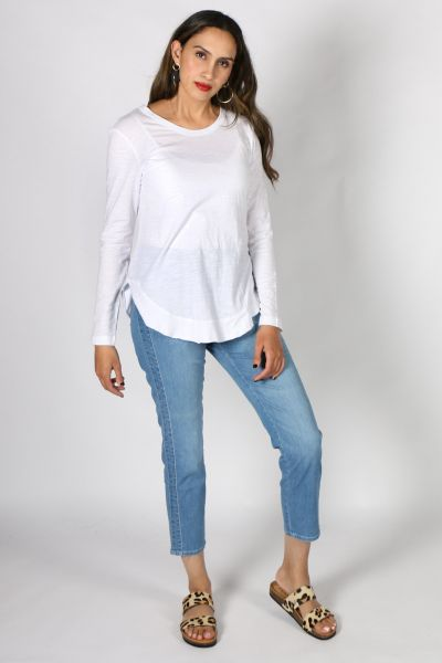 3rd Story Mosman Top In White
