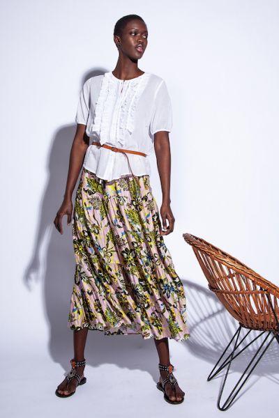 Funky Staff Madi Skirt In Retro Rose