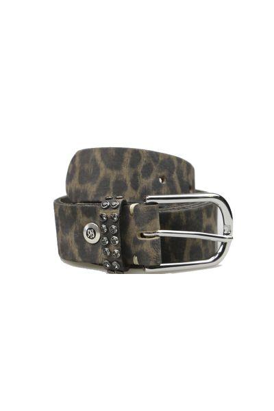 Leopard Belt By B.Belt In Brown
