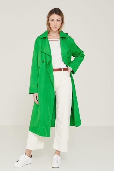 Yerse Maggie Coat In Emerald
