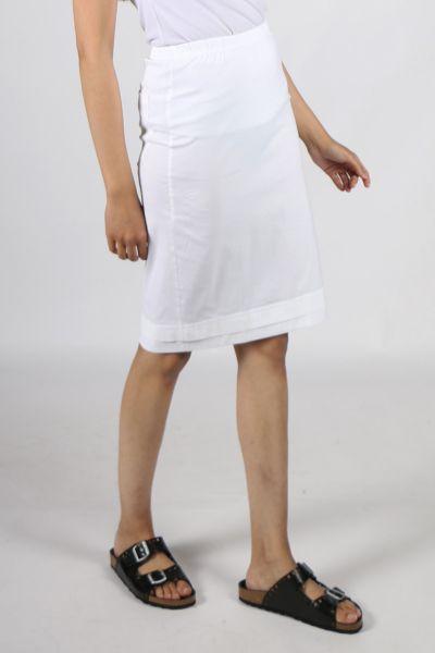 Macjays Paris Skirt In White