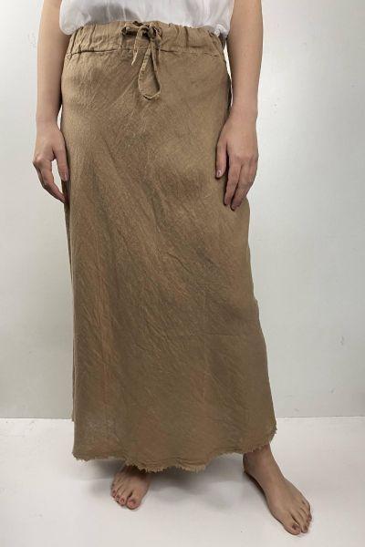 Femme Bias Skirt In Toffee