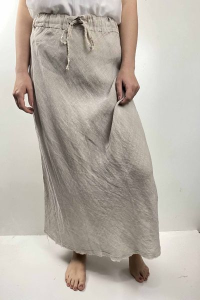 Femme Bias Skirt In Beige