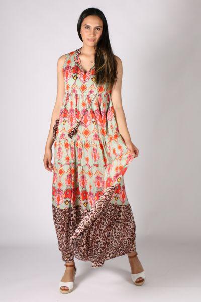 Rubyyaya Uzbek Dress In Print