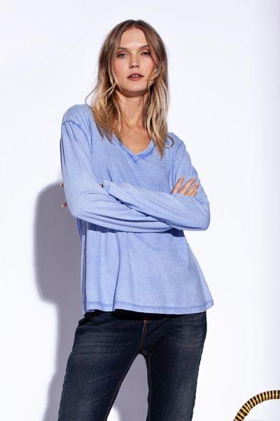 Funky Staff Anika Tee In Blue