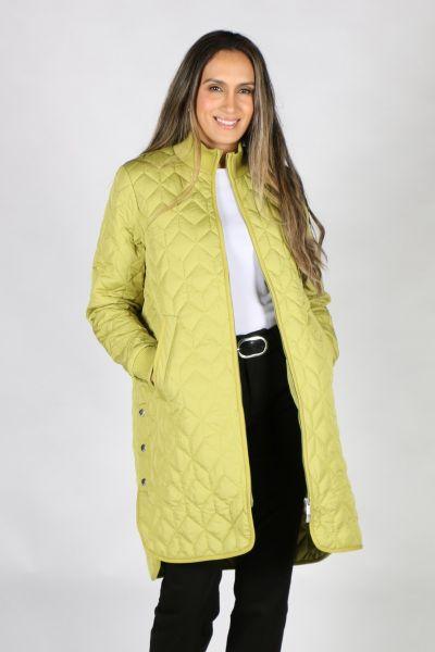 Ilse Jacobsen Padded Quilt Coat In Moss