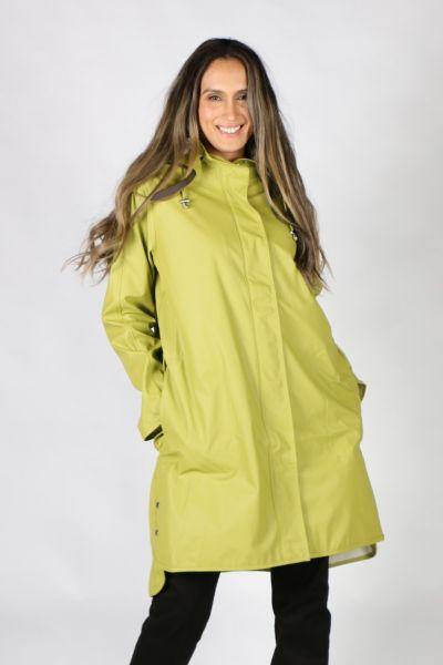 Ilse Jacobsen Raincoat In Moss