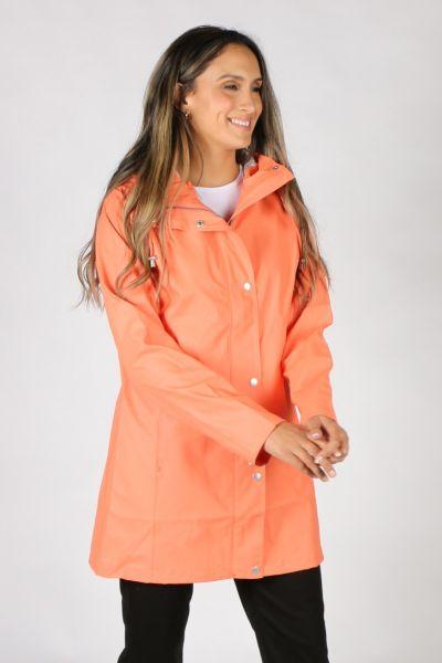 Ilse Jacobsen Hooded Raincoat In Camelia