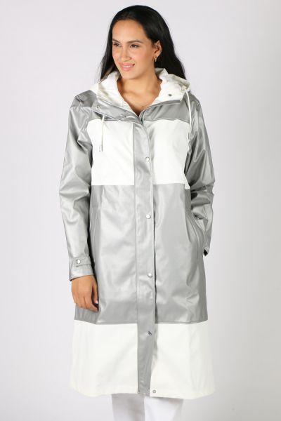 Ilse Jacobsen Silver Rain Jacket