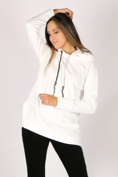 Verge Discover Sweater In White