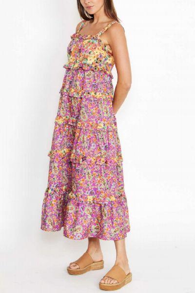 Kachel Frankie Dress in Paisley