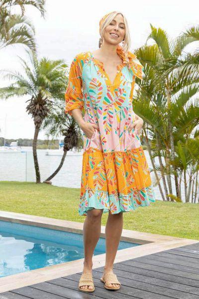 Lula Life Abby Tiered Dress