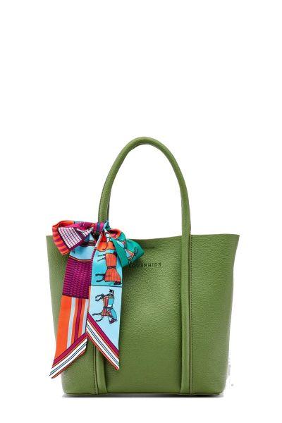Baby Panama Bag By Louenhide In Green