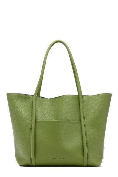 Panama Tote Bag By Louenhide In Green