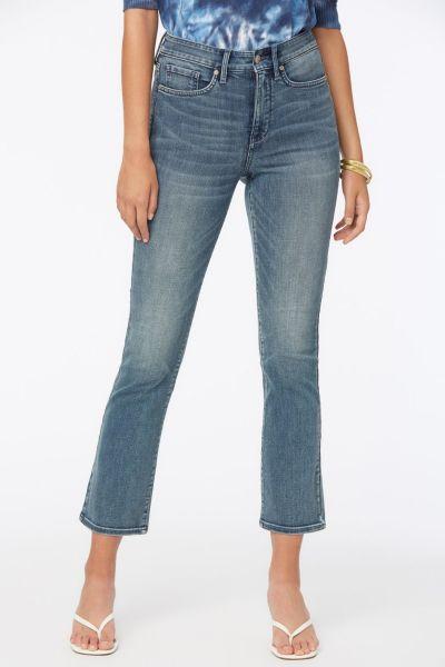 NYDJ Slim Bootcut Ankle Jeans In Monet Blue