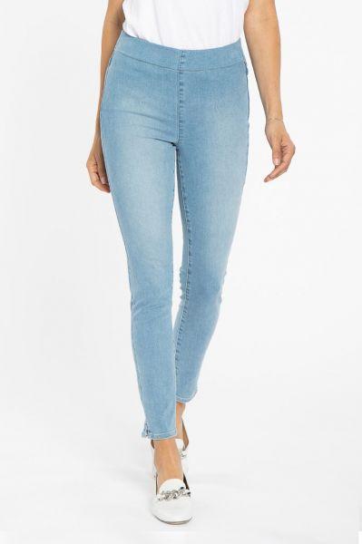 NYDJ Super Skinny Pull On Jean In Clean Seascape