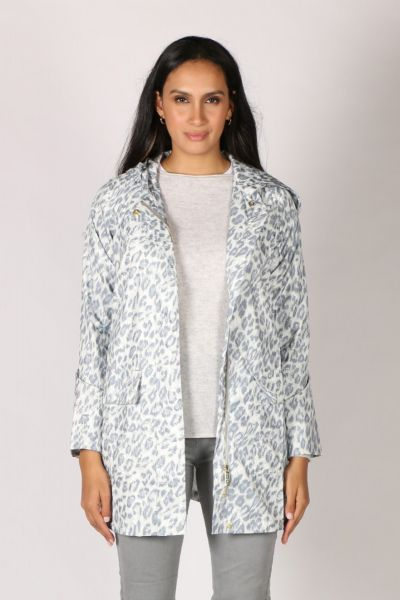 Paqme Anyday Raincoat In Leopard