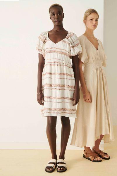 POL Artisan Dress In Stripe