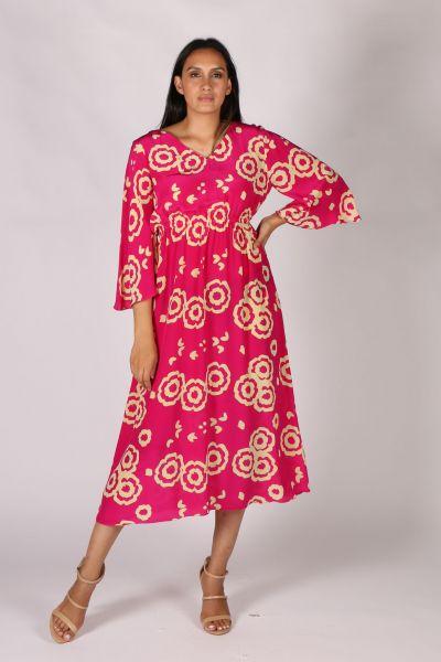 Anupamaa Ganika Dress In Fuchsia