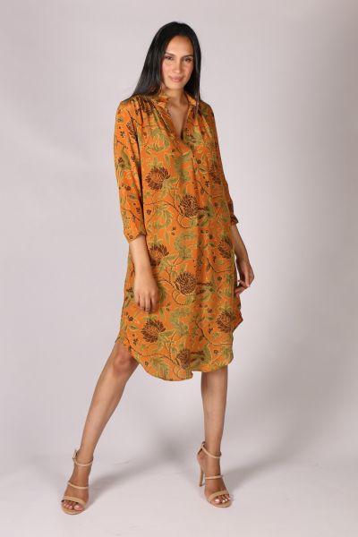 Anupamaa Roma Garden Dress In Tan