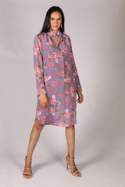 Anupamaa Rome Garden Dress In Lilac